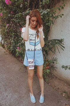 Tricia Gosingtian - Paulini Top, Paulini Bag, Le Bunny Bleu Shoes - 032815 | LOOKBOOK