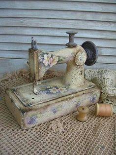Decoracion vintage - Costurero Maquina de cocer