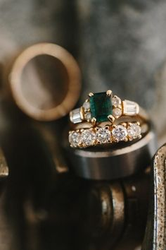 Emerald Wedding Ring | photography by http://robertjhill.com