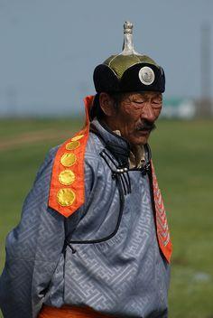 Sunday best . Mongolia