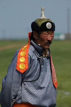 Sunday best . Mongolia
