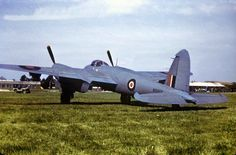 Mosquito PR Mark XVI, at Mount Farm, Oxfordshire, on being handed over to the USAAF. Air Force Aircraft, Ww2 Aircraft, Military Aircraft, Helicopter Plane, De Havilland Mosquito, Ww2 Planes, Royal Air Force, Aviation Art, War Machine
