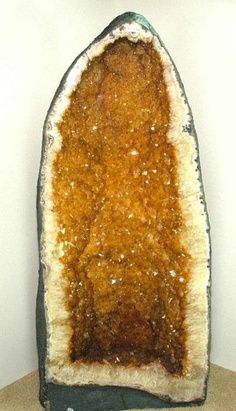 Beautiful #citrine geode