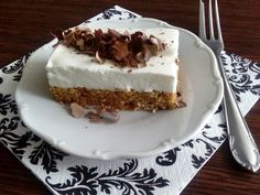 Sweet Recipes, Healthy Recipes, Tiramisu, Zucchini, Cheesecake, Food And Drink, Low Carb, Pie, Cookies