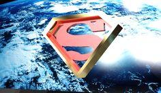 Logo 3d Superman