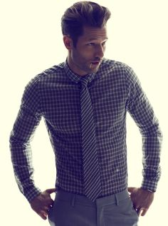 Well dressed. Love the gingham and stripes. #gingham #stripes #blackandwhite
