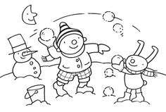 Winter - uk en puk 4 Year Old Activities, Winter Activities For Kids, Winter Crafts For Kids, Creative Activities, Diy For Kids, Coloring Sheets For Kids, Coloring Pages, Easy Art Projects, Winter Time