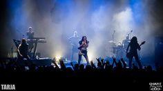 Tarja Turunen and her band: Alex Scholpp, Max Lilja, Tim Shreiner, Kevin Chown and Christian Kretschmar live at Le Transbordeur, Lyon, France. The Shadow Shows, 08/11/2016 #tarja #tarjaturunen #theshadowshows #tarjalive PH: Chart - Live Photography https://www.facebook.com/ChartLivePhotography/