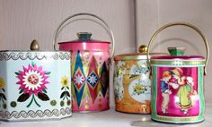 Beautiful vintage tins#Repin By:Pinterest++ for iPad#