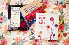 Three essential resource books for your knitting library.