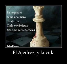 El Ajedrez  y la vida #FrasesConMensaje Chess Quotes, Kings Game, Color Psychology, Empowering Quotes, Quotes About God, Roxy, Dreams, Twitter, Truths