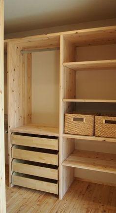Wardrobe Design Bedroom, Bedroom Bed Design, Room Ideas Bedroom, Bedroom Wardrobe, Room Decor, Shelf Furniture, Home Furniture, Furniture Design, Bedroom Cupboard Designs
