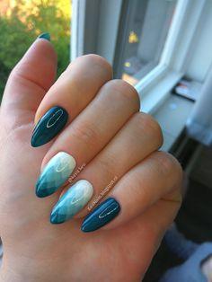 Kesi Nails: [Moje paznokcie + Tutorial] Geometryczne ombre :)