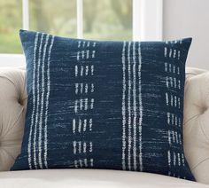 Shibori Dot Print Pillow Cover