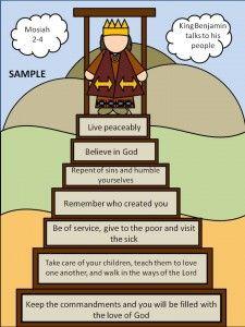 King Benjamin lesson. #familyhomeevening