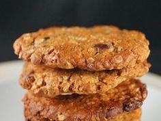 Almond Butter Oat Cookies - vegan with gluten free option