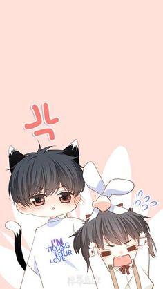 Love Never Fails Manga Cute Couple Drawings, Anime Couples Drawings, Anime Couples Manga, Cute Anime Couples, Cute Drawings, Cute Chibi Couple, Cute Couple Art, Anime Love Couple, Manga Romance