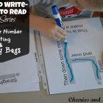Play to Write - Write to Read: Week 10 Beginner Number Writing and Story Bags