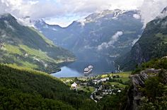 Geiranger, Geirangerfjord, Norway | by Seventh Heaven Photography - on vacation!