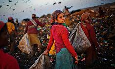 Untouchable to indispensable: the Dalit women revolutionising waste in India Photo credit Daniel Berehulak