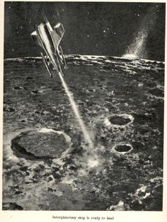 Travel to distant worlds - 1960
