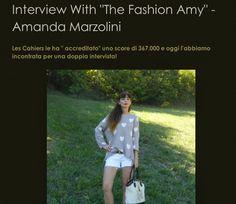 amanda marzolini the fashionamy fashion blogger, interviste fashion blogger, Mirko Gancitano fashion blog, press,