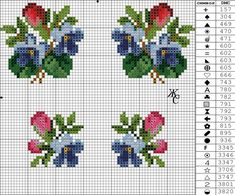 VK is the largest European social network with more than 100 million active users. Small Cross Stitch, Cute Cross Stitch, Cross Stitch Borders, Cross Stitch Rose, Cross Stitch Flowers, Cross Stitch Charts, Cross Stitch Designs, Cross Stitch Patterns, Loom Patterns