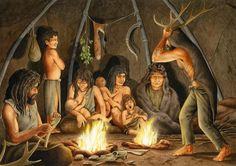 Resultado de imagen de curtido de pieles prehistoria