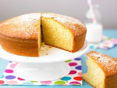 Lemon Tea Bread Recipe -This moist, lemony quick bread makes a delightful breakfast or dessert. Baby Food Recipes, Baking Recipes, Cake Recipes, Food Baby, Quick Cake, Quick Bread, Lemon Tea Bread Recipe, Kolaci I Torte, Kfc