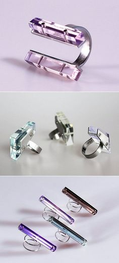 TheCarrotbox.com modern jewellery blog : obsessed with rings // feed your fingers!: KATERINA REICHOVA