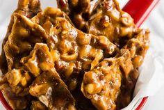 Homemade Maple Peanut Brittle