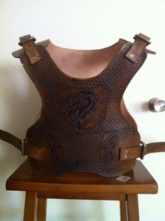Leather Armor by LeatherKnightmare on Etsy, $100.00