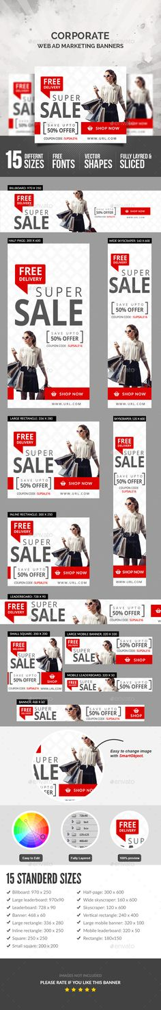 Sales Banners Template PSD. Download here: https://graphicriver.net/item/sales-banners/17558484?ref=ksioks