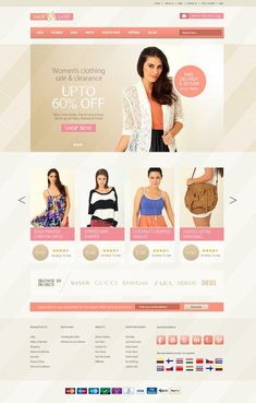 User Interface design for eCommerce website Free Clothes, Clothes For Sale, Best Interior Design Websites, Interior Design Institute, Building A Website, Portfolio Website, Business Website, Free Website, Web Design Inspiration