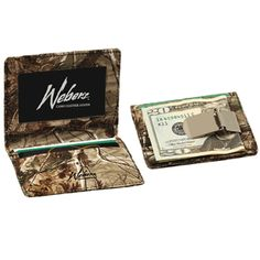 Realtree AP Leather Front Pocket Wallet