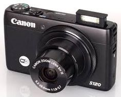 Canon S120   Canon PowerShot S120 features a new star mode for astronomy shooting and a DIGIC 6 image processor with a 12.1 megapixel CMOS sensor.