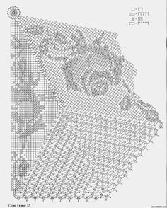 Crochet Round, Crochet Home, Filet Crochet Charts, Crochet Doilies, Hobbies And Crafts, Projects To Try, Crochet Patterns, Inspiration, Tablecloths