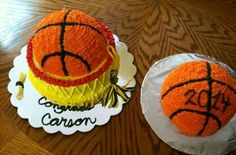 Basketball Grad cake