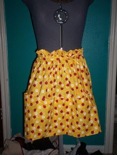 One Yard Projects: apron tutorial