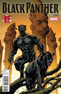 Black Panther #1 (2016) The Comic Bug Exclusive Variant Cover by Mike McKone