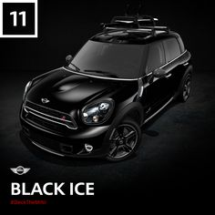 This ALL4 all-wheel drive dark horse fears no weather. Ready to make a MINI Cooper S Countryman ALL4 of your own? #DeckTheMINI