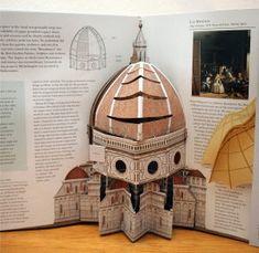 """""""Renaissance Art"""" Pop-Up Book erschienen – papierstadt.de"""
