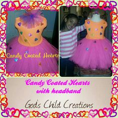Candy Coated Hearts
