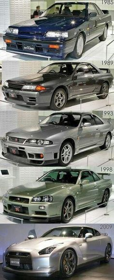 Evolution of the Nissan Skyline GT-R