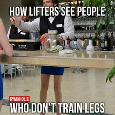 How Lifters See People
