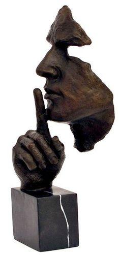 Stillness Speaks Hommage to Dalì Great Bronze Sculpture Bronze