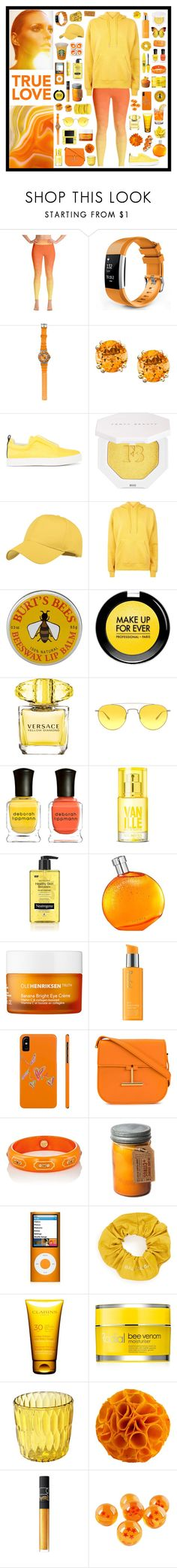 """true love"" by tiny-girl-big-heart ❤ liked on Polyvore featuring Anja, Dakota Watch Company, Pierre Hardy, Puma, John Lewis, MAKE UP FOR EVER, Versace, Barton Perreira, Deborah Lippmann and Neutrogena"