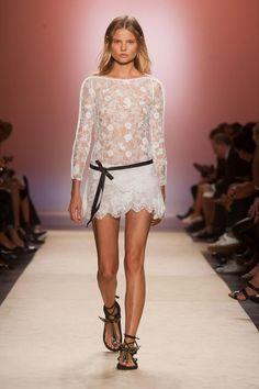 #Lace #dress at Isabel Marant, spring 2014.