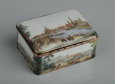 Tabatiere    Meissen, circa 1755/60  Meissen, um 1755/60      Porzellansammlung