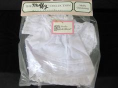 Muffy VanderBear Collection Muffy's Christening Gown NIP #MuffyVanderBear